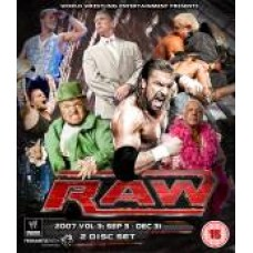WWE Raw 2007 DVD (Bluray)