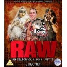 WWE Raw 1996 DVD (Bluray)