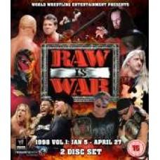 WWE Raw 1998 DVD (Bluray)