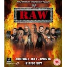 WWE Raw 2001 DVD (Bluray)