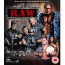 WWE Raw 2002 DVD (Bluray)