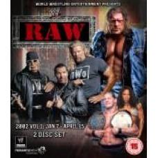 WWE Raw 2002 DVD (Bluray)